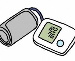 血圧計イラスト